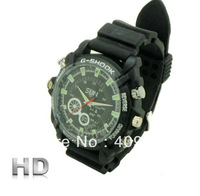 Drop Shipping Night Vision Watch DVR HD 1080P 4GB 8GB 16GB 32GB  infrared camcorder Camera W1000 Wristwatch 12 Mega pixel