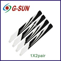 4 pairs 325mm Glass Fiber Main Rotor Blade for Trex 450 V2/SPORT/PRO