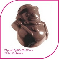 FREE SHIPPING PC Mold Cut Chocolate Mould $15 off per $250 order