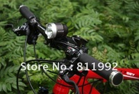 Free shipping1Set T6 Bike Light XMLT6 LED 1200 Lumens 3 Mode Waterproof Bicycle Light LED HeadLamp + 8.4v Battery Pack + Charger