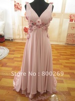 In Stock On Sale Red/Pink/Blue Us size 6 Prom/Evening Dress/Gown SL-7093