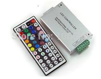 connect 10m led strip light smd5050 60led/m12v 12A 144w 44key RGB LED strip remote controller