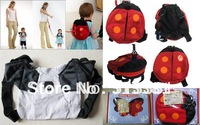 Promotion! 1pcs Baby Harness buddy(Ladybug&Bat)/Kid Keeper Baby Carrier/Child Backpack Harness/Toddler Harness
