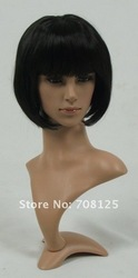 Relistic female PE mannequin head for lace wig and hat(China (Mainland))