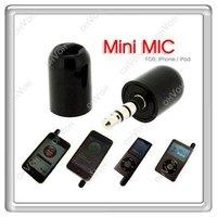 S5Q Mini Microphone Mic Recorder for Touch Nano Iphone 3G 3GS Black Flexible PDA