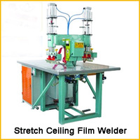 1 head / 2heads Welding machine for welding PVC stretch ceiling film