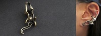 Min Order $15 (can mix order) unisex Vintage Gothic  Cat Stud Earring Jewelry