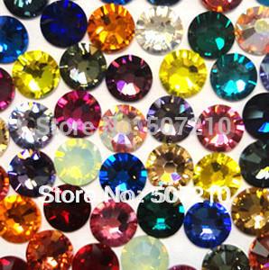 Nail Art Rhinestones,ss5 Mixed Color for 1440Pcs/Lot Free Shipping HB924-S5