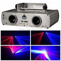 2 Lens Red&Blue 450nM Disco Party DJ Stage Laser Light DMX night Club Show lazer Licht,DL-22RB