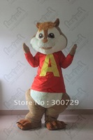 top quality alvin mascot costume alvin chipmunk costumes for party
