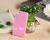 Popular Candy Colors Potective Case For iPhone 4S Whole Sale 5pcs/Lot + Free Shipping