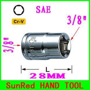 Гаечный ключ SunRed BESTIR cr/v 6point 3/8 dr.short , no.82105 8 inch industrial grade cr v diagonal pliers