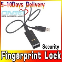 Mini USB 2.0 Biometric Fingerprint Reader Password Security Lock for PC Computer Support  Windows 2000, XP, Vista, win7 3pcs/lot