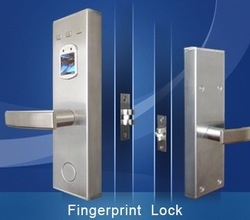 Free Shipping Security Digital Fingerprint Access Control Door Lock Fingerprint Door Lock 50 Fingerprint Users With Two Grades(China (Mainland))