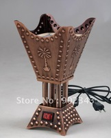 2012 HOT!!!! Arabic Electric Incense Burner THREE COLOR AVAILABLE 18cm HIGHT SMALL SIZE