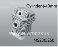TOP QUALITY OF CYLINDER  WITH PISTON AND RINGS FOR MS230, 250, 260, 4PCS/LOT