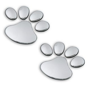 Free Shipping,Hot Personality 3D bears-paw Cat 's claw FootPrint Car Stickers 1pcs,Min Order$15(China (Mainland))