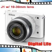 J1 Original Nikon 1 J1 Mirrorless Micro SLR Digital Camera with 10-30 mm Lens---EMS FREE SHIPPING