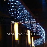free shipping 10*1M 448pcs 220V LED curtain light Christmas/wedding/party/hotel decoration,led string tree light