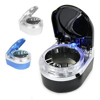 Fireproof LED Car Air Vent Smoke Cigrette Holder Travel Ashtray Ash Tray Cup
