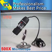 Wholesale 50pcs!  50-500X USB Digital Microscope Endoscope 8 LED camera zoom