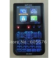 ALL Free shipping dvb-s2 SATLINK 8PSK HD ws-6922 without spectrum black color ws6922 digital satellite finder