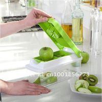 Wholesale  Fruit Slicer Green Vegetable Plus 10-piece Fruit & Vegetable Tools  15PCS/lot Free shipping