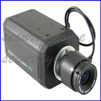 Sony OSD 700TVL CCD Effio-E DSP Auto IRIS  3.5-8mm lens Surveillance HD Box Camera