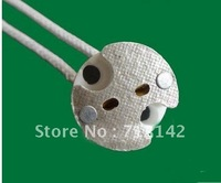 free  shipping,300pcs/lot,MR16 Base,Ceramic MR16 socket,MR16 Holder,Bulb adaptor,GU5.3 socket
