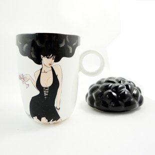 Sexy explosion head color cup ceramic color cup day gift free air mail