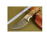 High Quality OEM Browning African Rhino Hunting Knife Camping Knife KA0017  Free Shipping