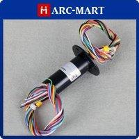 15.5mm 24*2A Conductors Capsule Slip Ring 220V AC 250Rpm #OT232