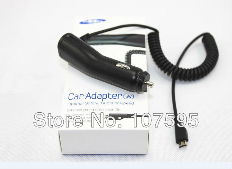 Car Charger for Samsung Galaxy S3 i9300 with retail package,10pcs/lot,high quality,Freeshipping(China (Mainland))