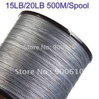 Super Strong 100% UHMWPE Fishing Line 4-Braid 15LB/20LB 500Meters/Reel