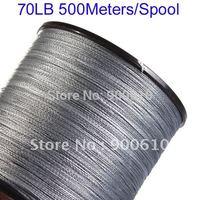 Super Strong 100% UHMWPE Fishing Line 4-Braid 70LB 500Meters/Reel