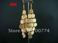 factory directly sale many deisgns optional diamond tassel earrings wholesale