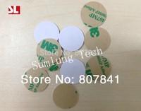 Free shipping(50 pcs) 125Khz Rfid ID Tags Stickers PVC EM4100 Waterproof Cards Tag