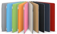 200pcs/lot wholesale  PU Leather Magnetic Smart Cover Case for new iPad 3 2 ,Wake-up Sleep , without retail packing