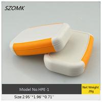 5 pieces  a lot  small plastic  handheld enclosure /plastic portable housing 75x50x18mm