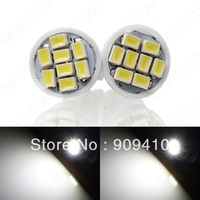 Wholesale 20pcs/lot white T10  8smd 1206 194 168 192 W5W 3020smd 8 smd super bright Auto led car lighting wedge