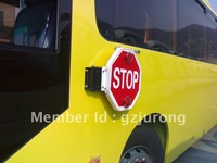 2014 new product motorized school bus stop arm traffic sign