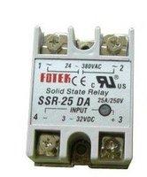 input 3-32V DC output 24-380V AC single phase 25A SSR DA Solid State Relay