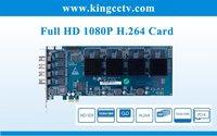Dahua card hd card  SDI dvr card  VEC8004HD with Full HD 1080P