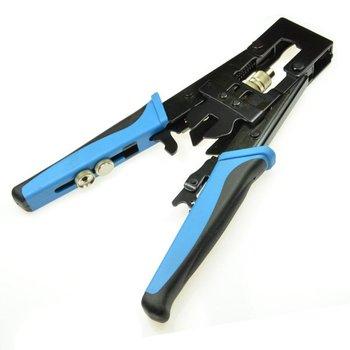 Universal Compression Tool BNC/RCA CRIMP TOOL RG59/RG6 1W5,RG59, RG6, F-pin, BNC, RCA