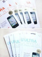 100PC/Lot DHL Free&Fast shipping SGP Screen Protector Steinheil Ultra Crystal,Oleophobic,Fine All Series For Iphone 4S 4G