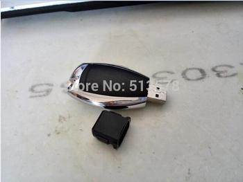 Hot plastic Car key usb flash drive 1GB 2GB 4GB 8GB 16GB 32GB usb 2.0