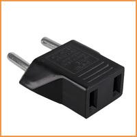 Free shipping 5pcs/lot Travel Charger Adapter Plug US USA to European Euro