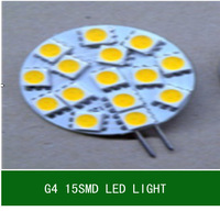 10pcs  12V G4 15 SMD 5050 2W  LED bulbs light energy saving lamp warm white