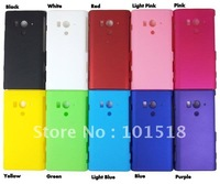 50pcs/lot Free shipping Rubber Hard Cover Case For SONY Xperia Acro HD SO-03D LT26W