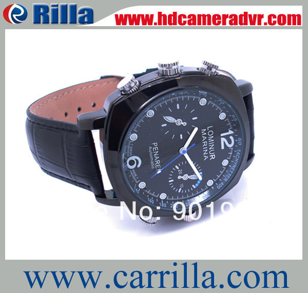 Free Shipping HD Hidden Camera Clock watch Video resolution:1280*720P (HDR-03)(China (Mainland))